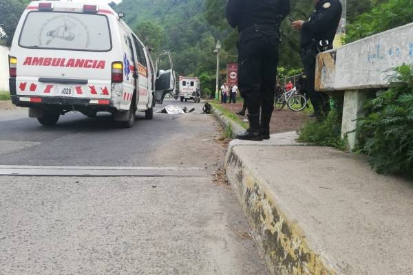 Accidente en Amatitlán
