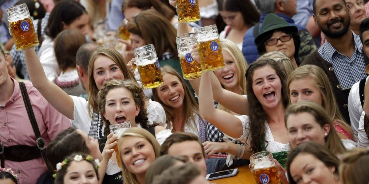 Comienza el tradicional Oktoberfest en Múnich, Alemania