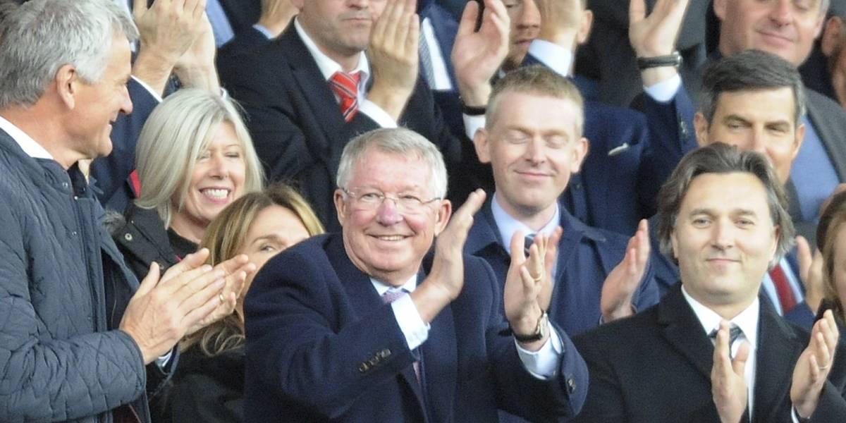 ¡Grande Sir Alex! El emotivo regreso de Ferguson a Old Trafford tras ser operado de un derrame cerebral
