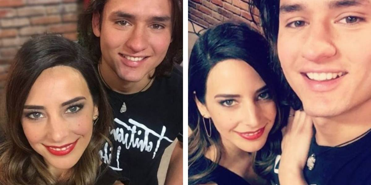 Confirman romance de Daniela Castillo con pupilo de