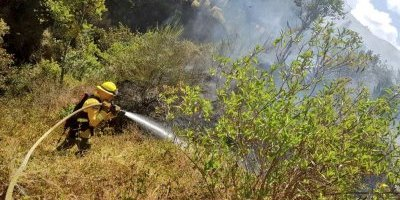 Quito: Se registraron dos conatos de incendios