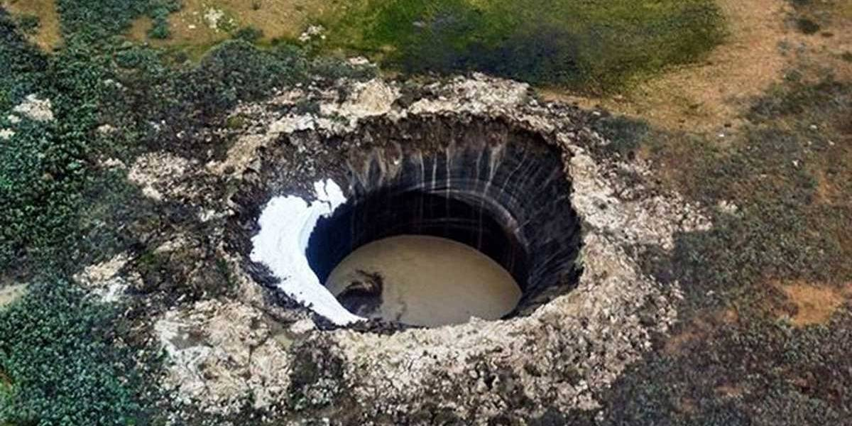 """Primeiro vulcão """"extraterrestre"""" é descoberto na península de Iamal"""