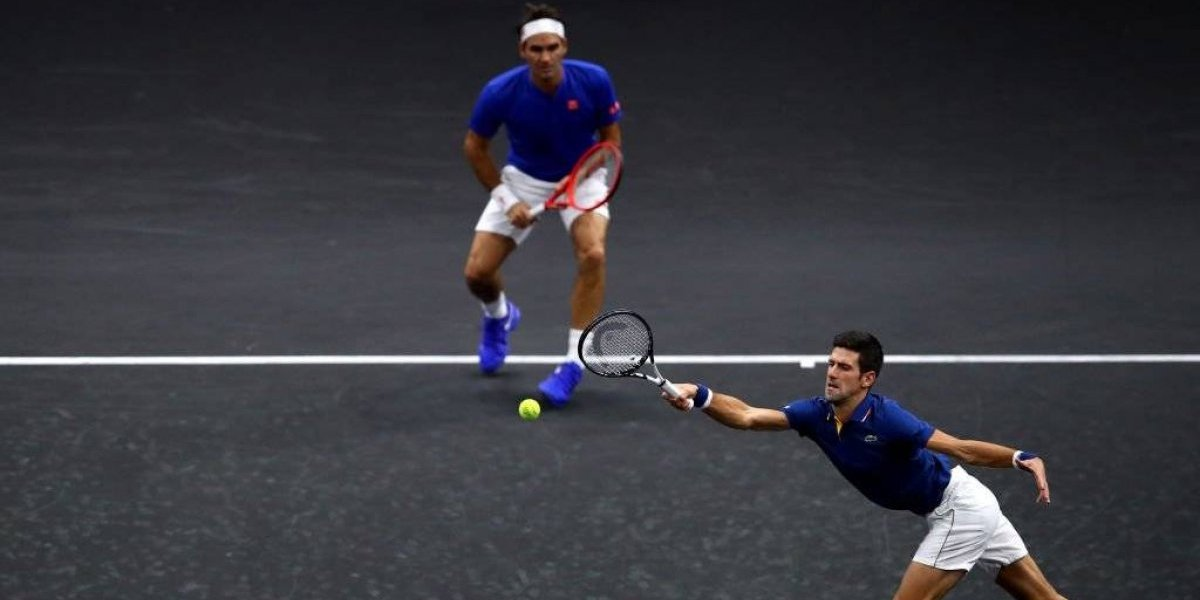 Federer y Djokovic caen en su debut en dobles en la Laver Cup