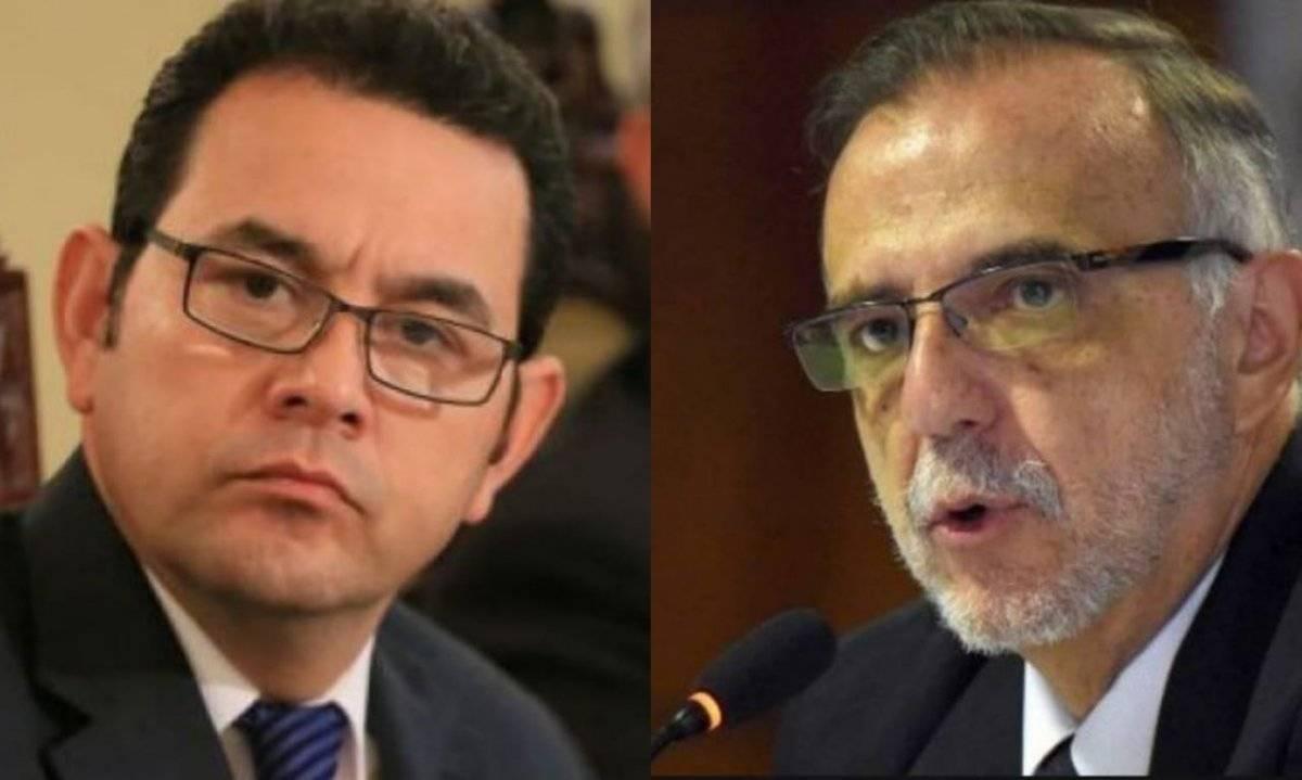 La CICIG pidió que se retirara el derecho de antejuicio al presidente Jimmy Morales. Publinews