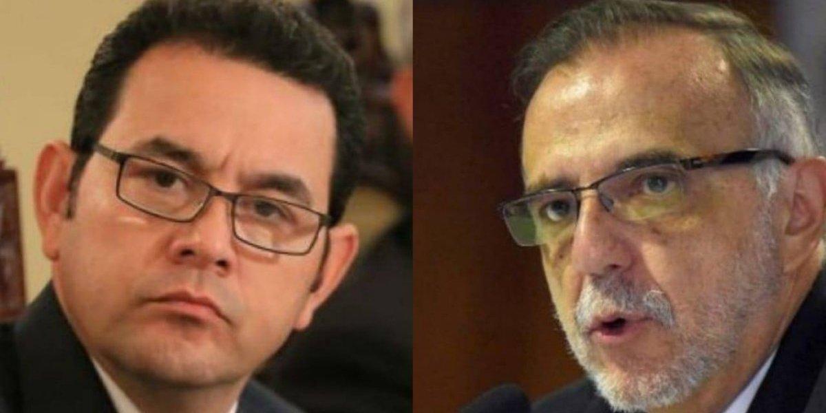 Presidente asegura que busca con ONU el relevo del comisionado Iván Velásquez