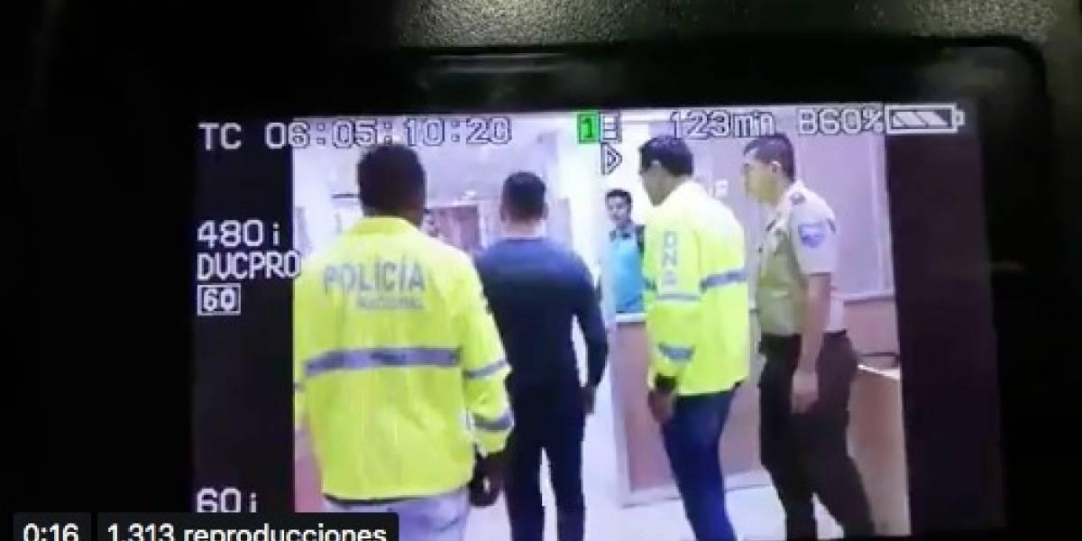 Iván Espinel regresó a prisión tras revocatoria de medidas cautelares