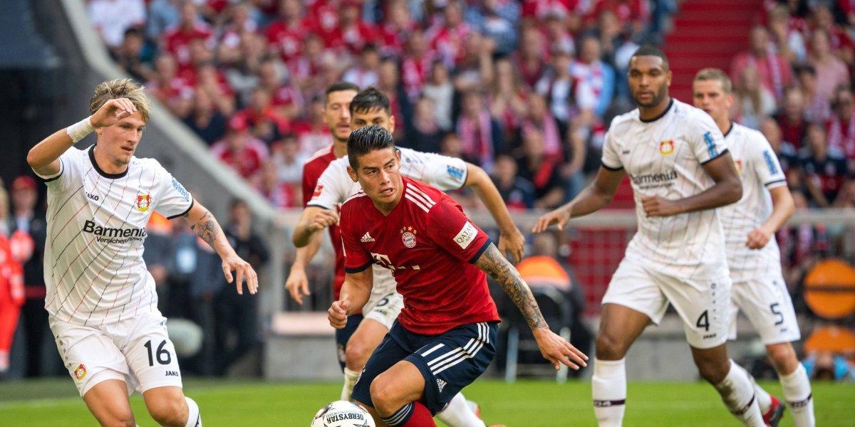 James quiere ser titular indiscutido en el Bayern, cuando visite al Schalke 04