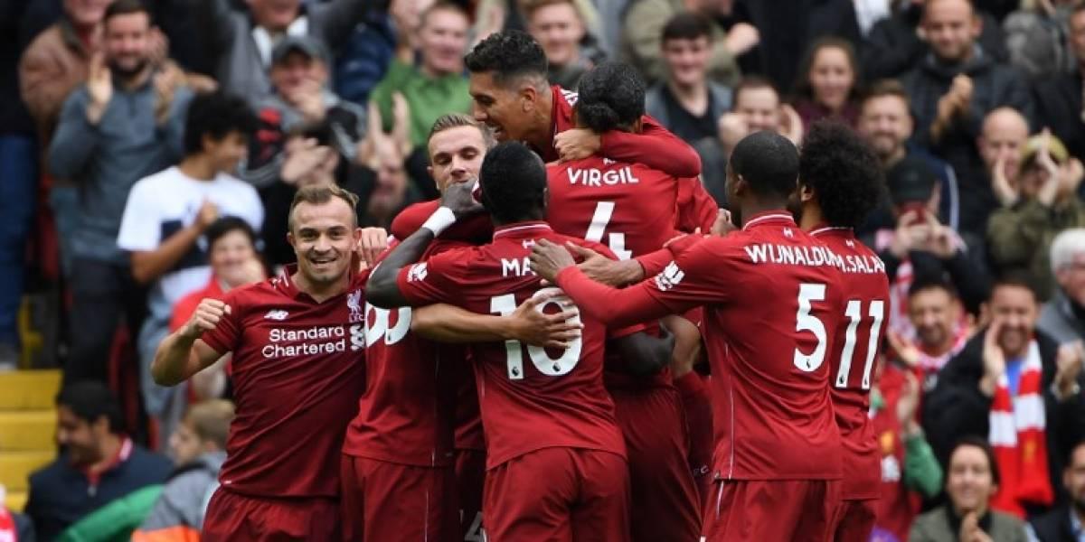 Liverpool golea al Southampton y sigue comandando la Liga Premier