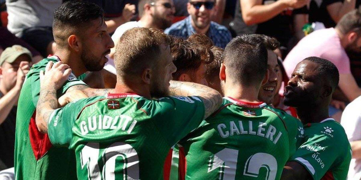 El Alavés de Maripán golea al Rayo Vallecano y queda tercero en la Liga española