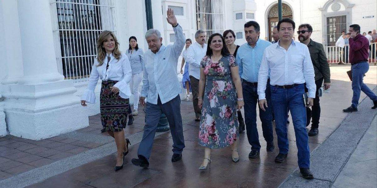 López Obrador asegura que no se va a pelear con Donald Trump
