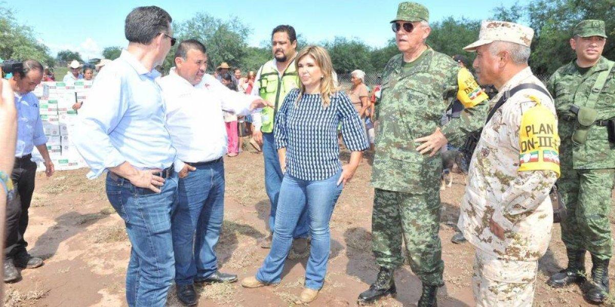 Salvador Cienfuegos supervisa Plan DN-III en Sonora
