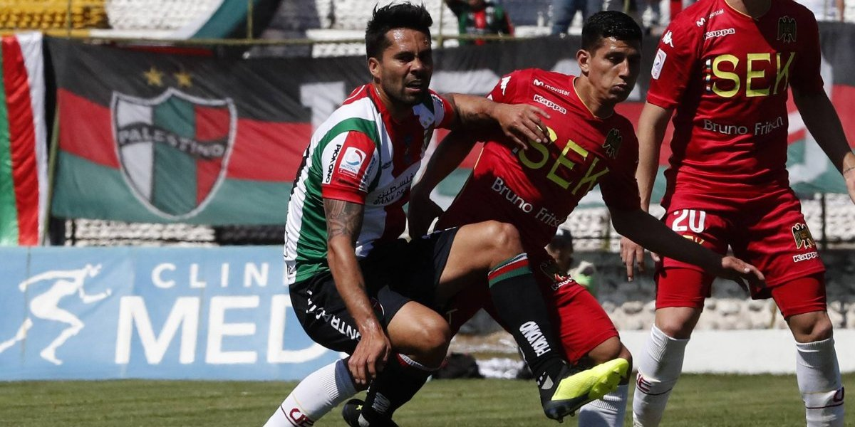 Palestino completó ocho partidos sin ganar tras empatar ante Unión Española en La Cisterna