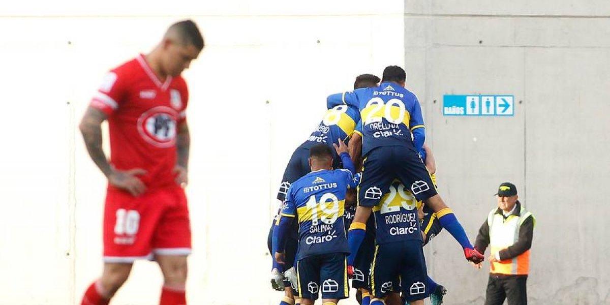 Everton sueña con la permanencia tras golear a Unión La Calera que dejó escapar la opción de ser líder