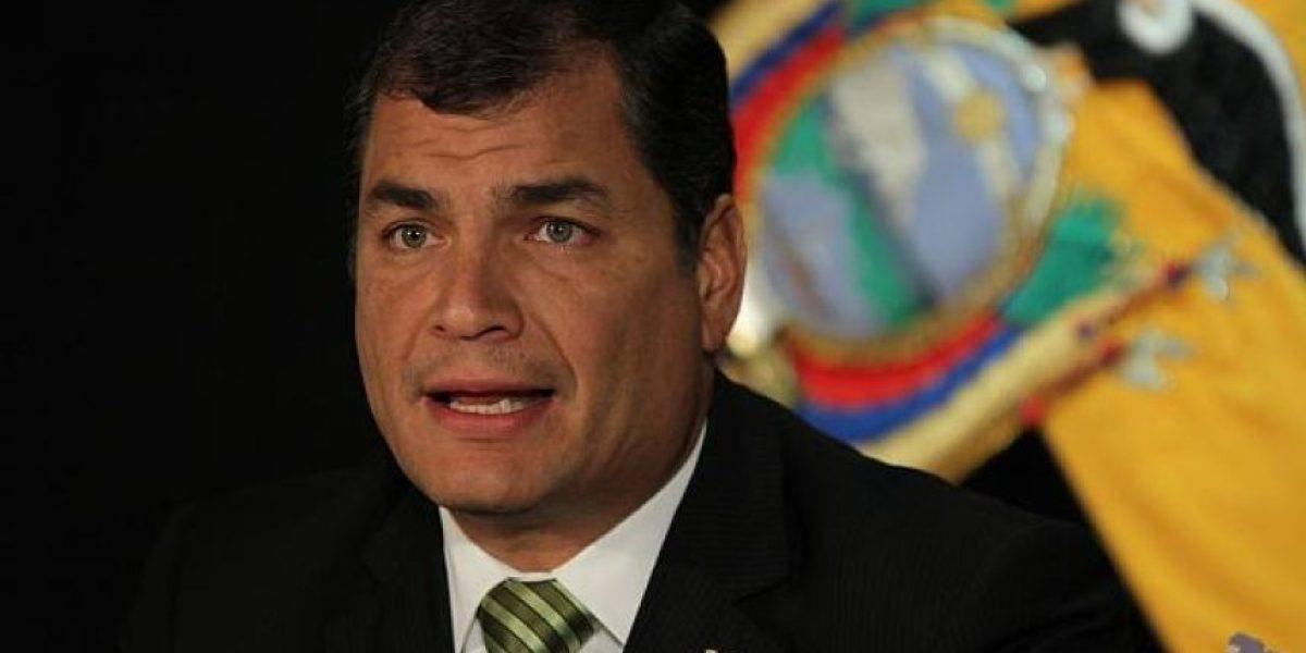 Rafael Correa cuestionó la construcción del Tren Playero de Lenín Moreno