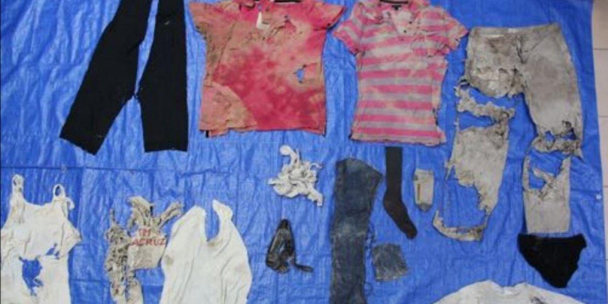 Difunden fotografías de ropa localizada en fosas clandestinas de Veracruz