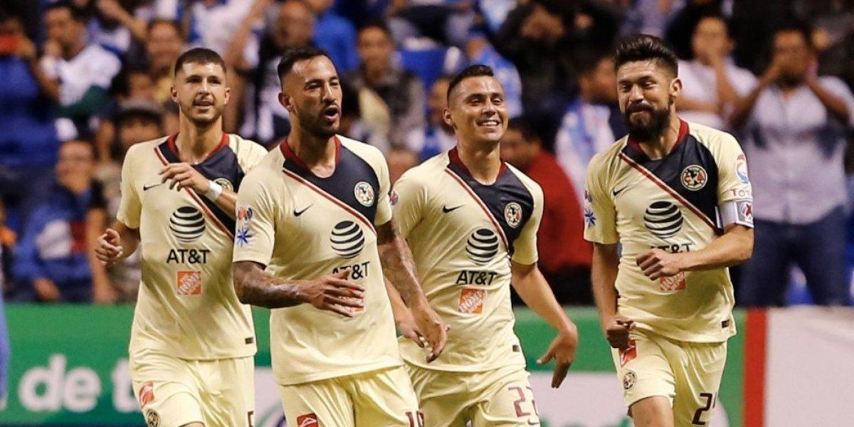 Bruno Valdez le da la victoria al América sobre Puebla