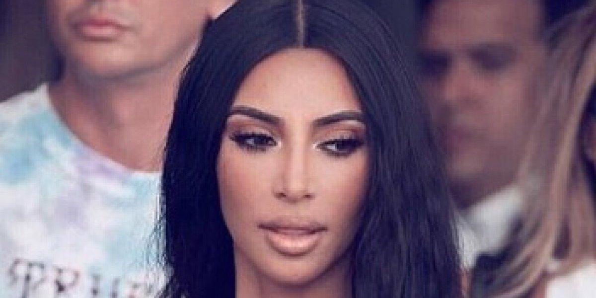 Así lucía Kim Kardashian en su pubertad