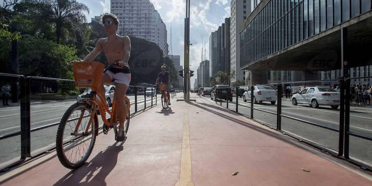 Prefeitura quer construir mais de 170 km de ciclovias até o fim de 2020