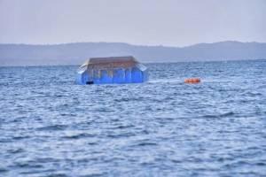 Labores de rescate en la zona del Ferry accidentado