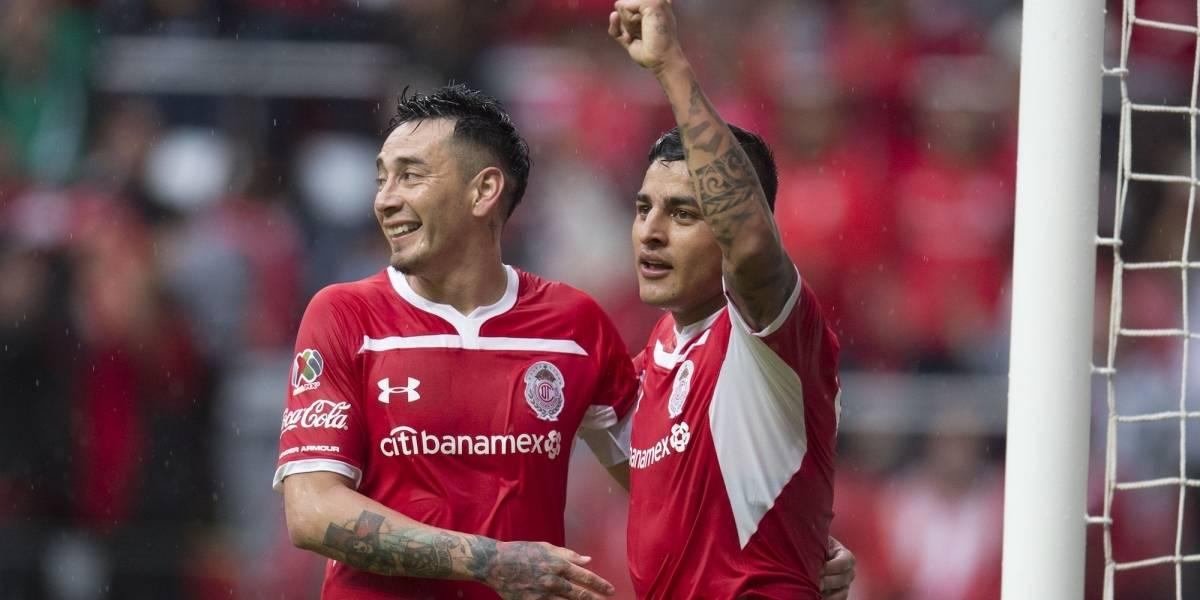 Toluca vence 3-2 a Necaxa en Jornada 10 Apertura 2018