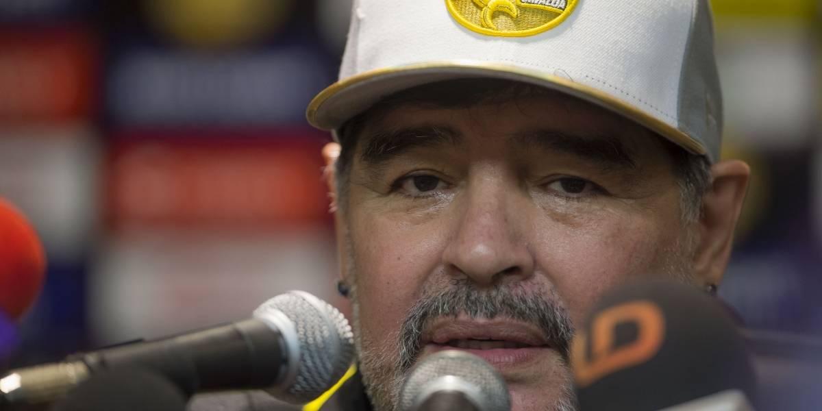 VIDEO: Maradona explota al final del encuentro ante Alebrijes