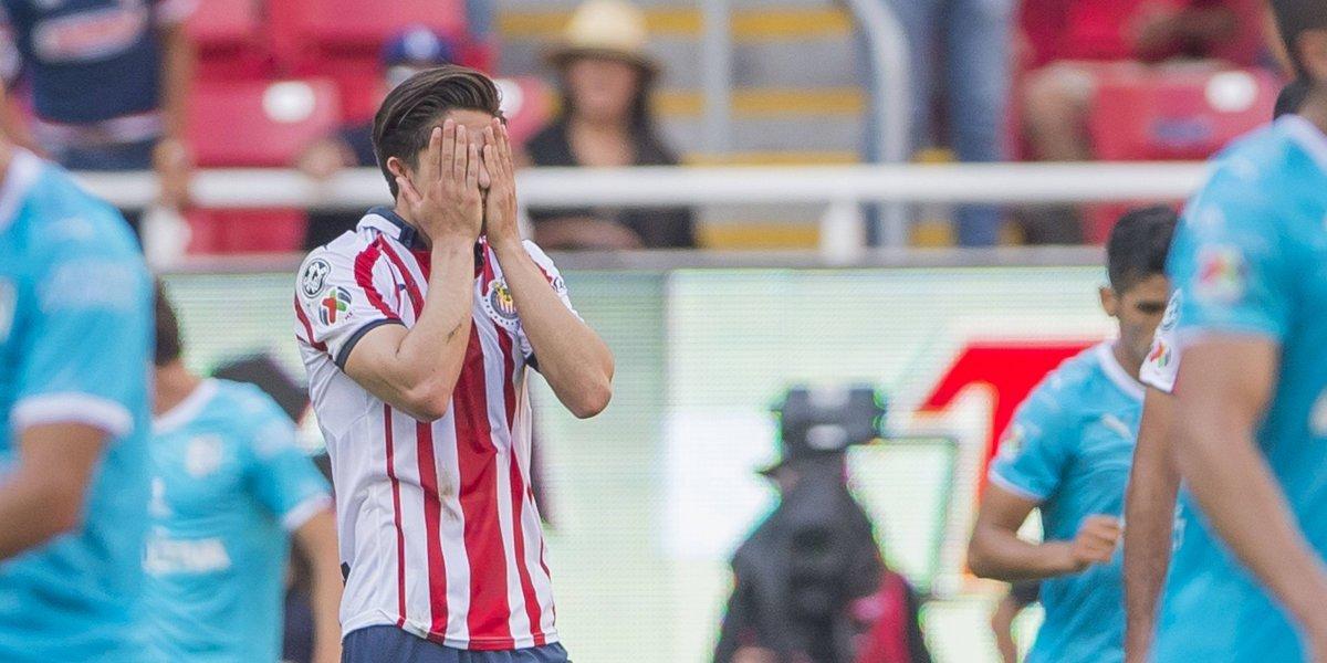 En el último minuto, Chivas dejó ir el triunfo