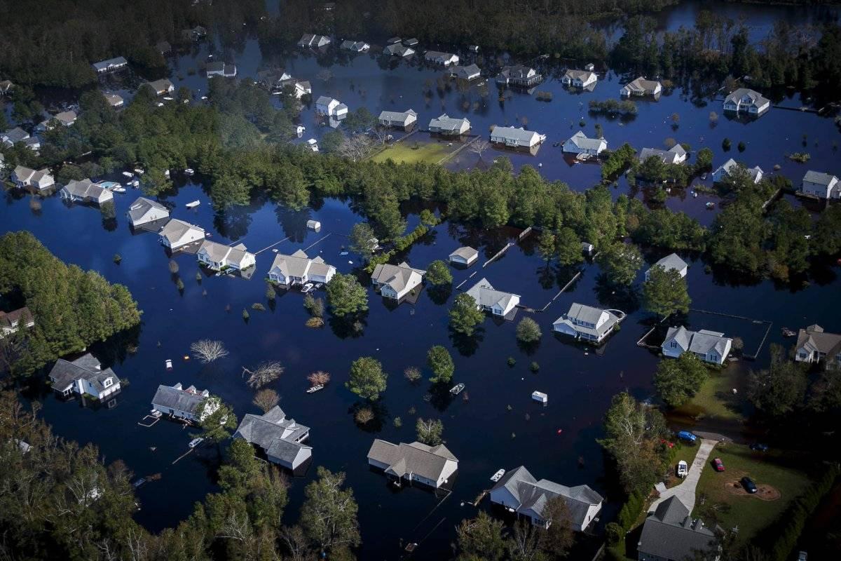 Huracán Florence por las Carolinas