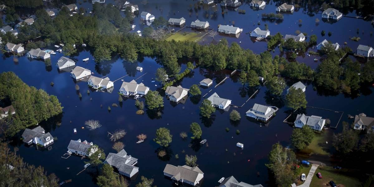 Alertan sobre más inundaciones por Florence en las Carolinas