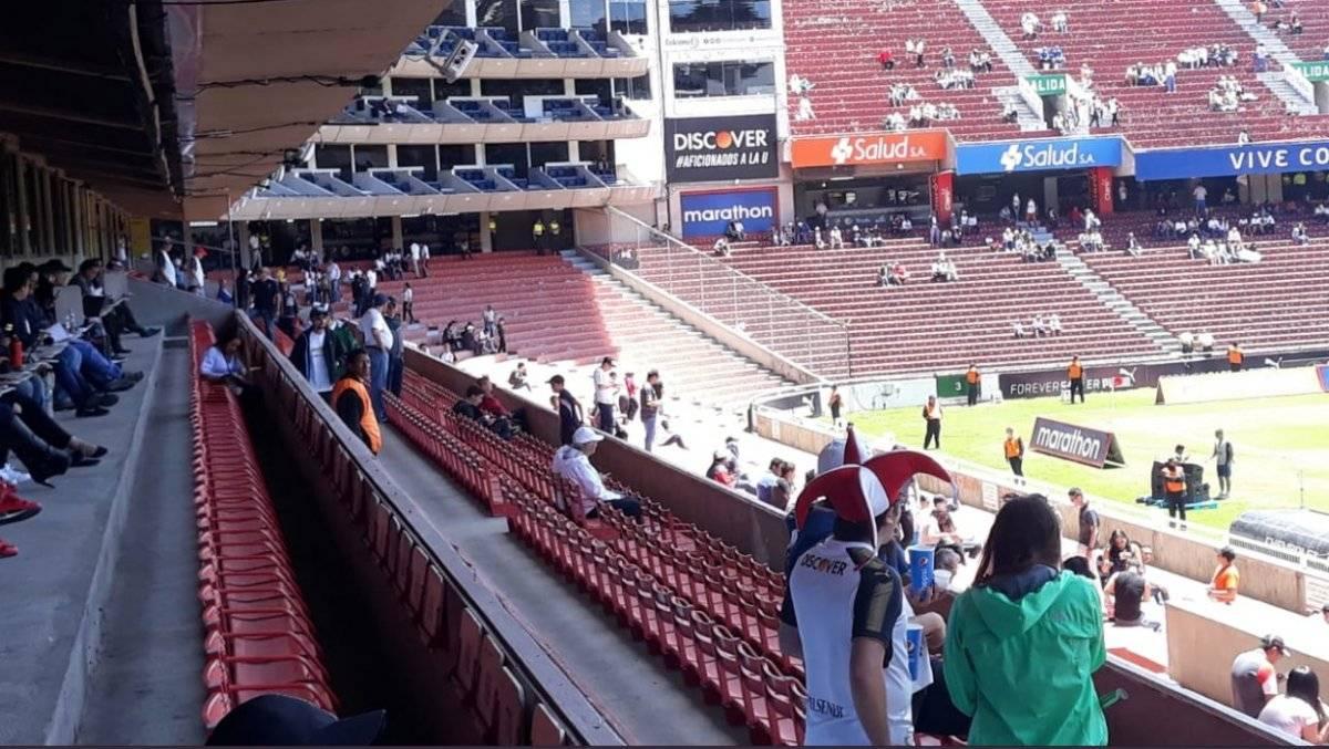 Precios accesibles para el partido de Liga de Quito vs Universidad Católica Captura