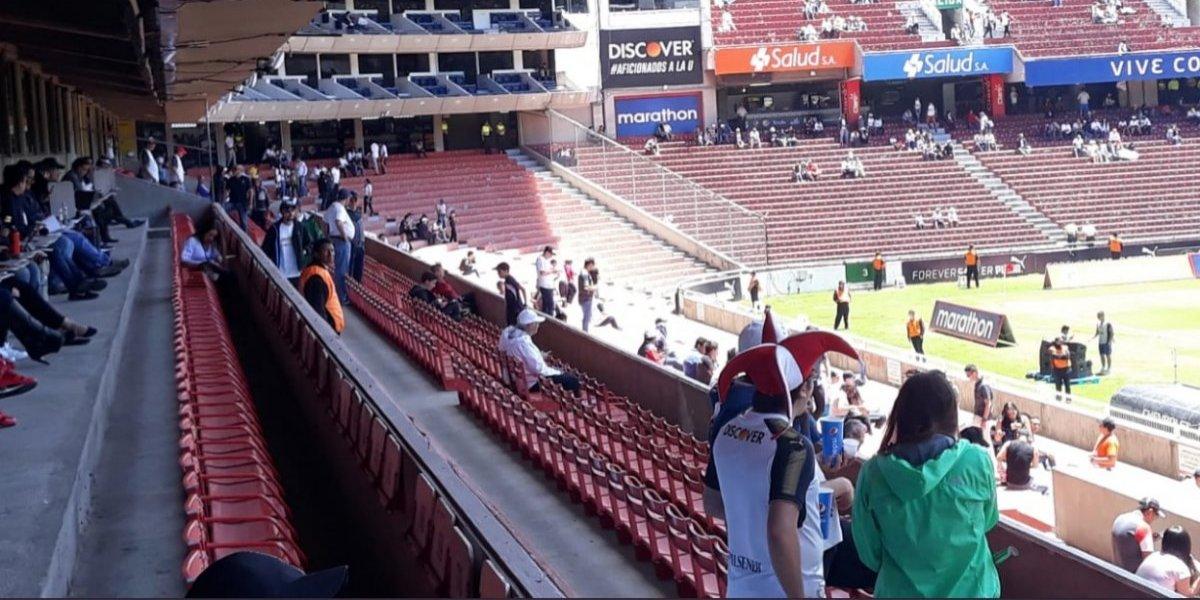 Esta es la taquilla que recaudó hoy Liga de Quito