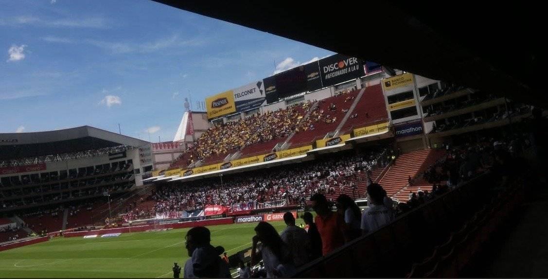 Asi luce el estadio de Rodrigo Paz
