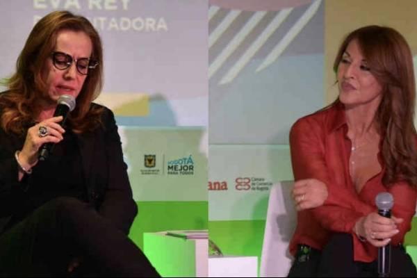 Alejandra Borrero y Amparo Grisales