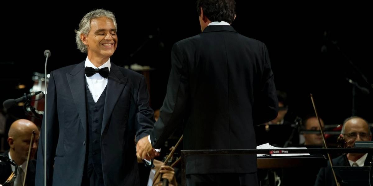 Andrea Bocelli rompe 'récord' por los boletos más caros en GDL