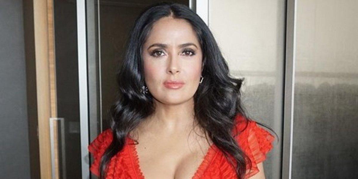 Salma Hayek cae rendida a su nueva estilista