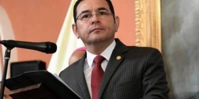 Morales evitó pronunciarse sobre el comisionado Iván Velásquez.