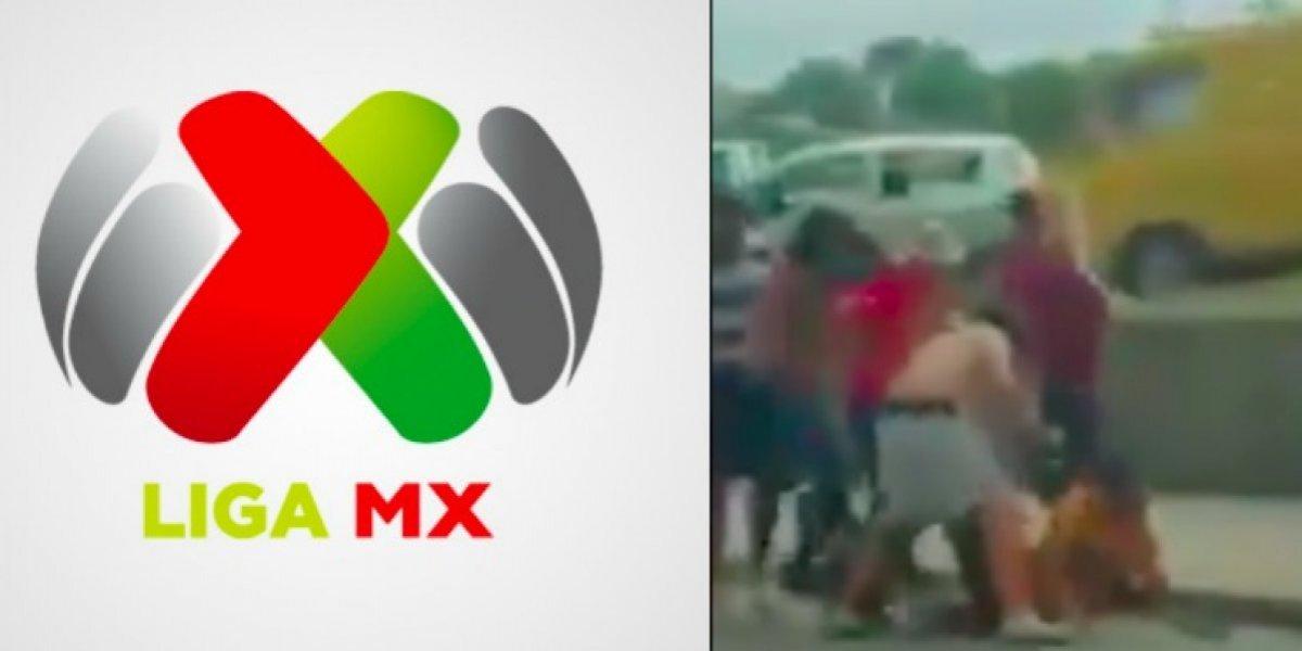 La Liga MX emitió su postura ante los actos de violencia previo al Clásico Regio