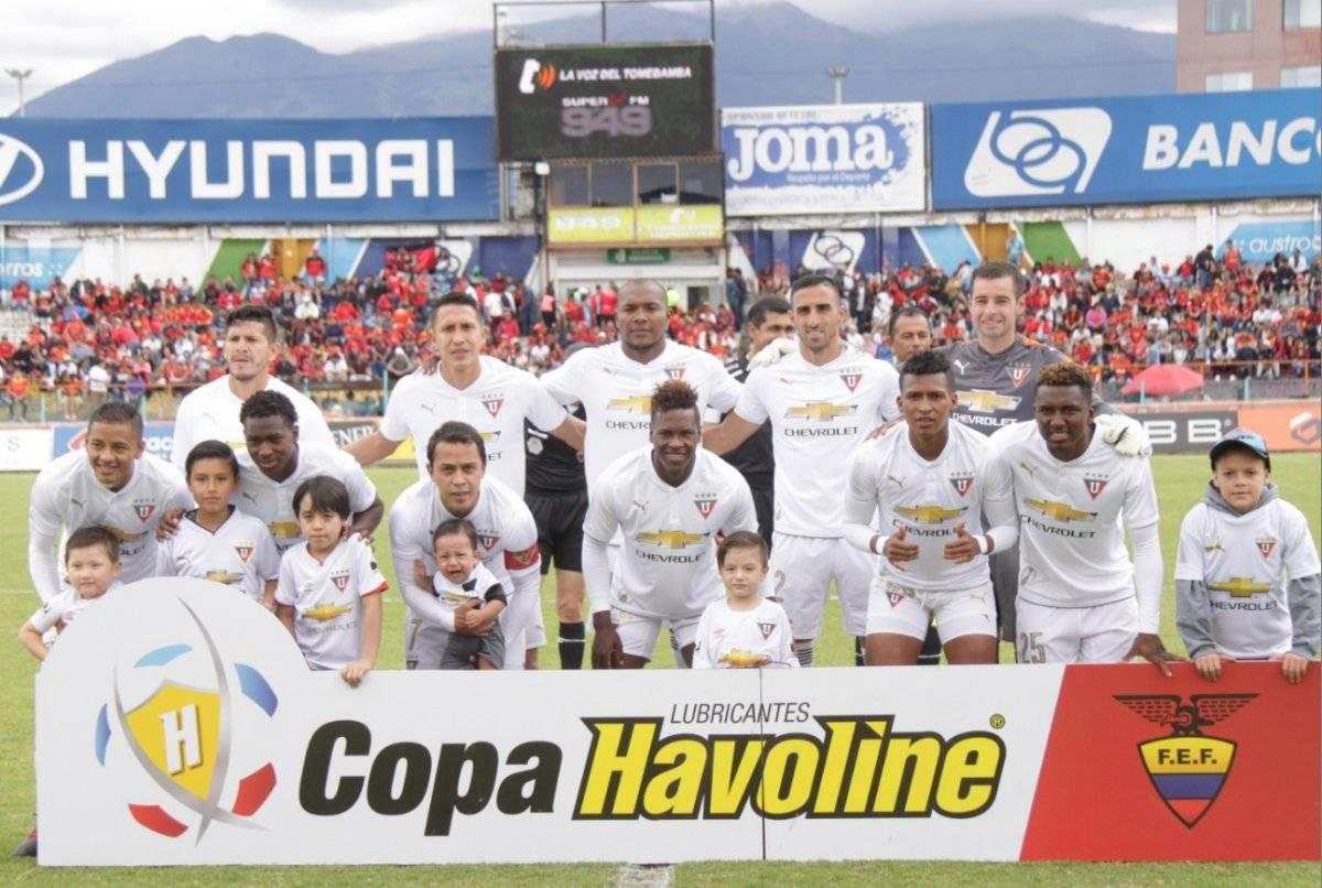 Liga de Quito vs. Universidad Católica: EN VIVO ONLINE por Gol TV, alineaciones, hora del partido API