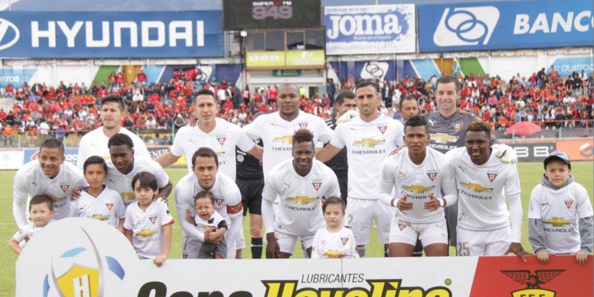 Liga de Quito estrenará camiseta contra Barcelona Sporting Club