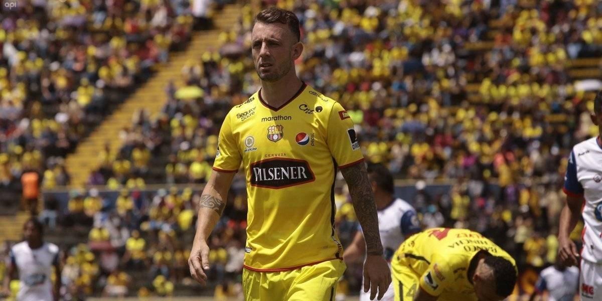 Critican a Damián 'Kitu' Díaz por gestos en la final de la Copa Alberto Spencer