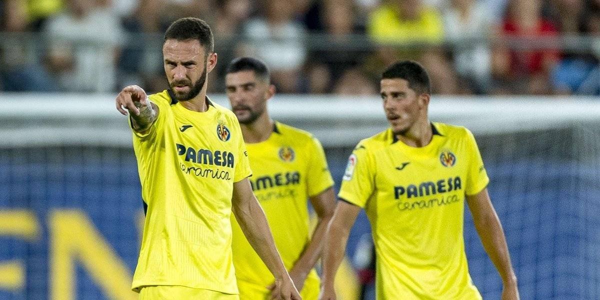 Miguel Layún juega todo el partido en el empate del Villarreal