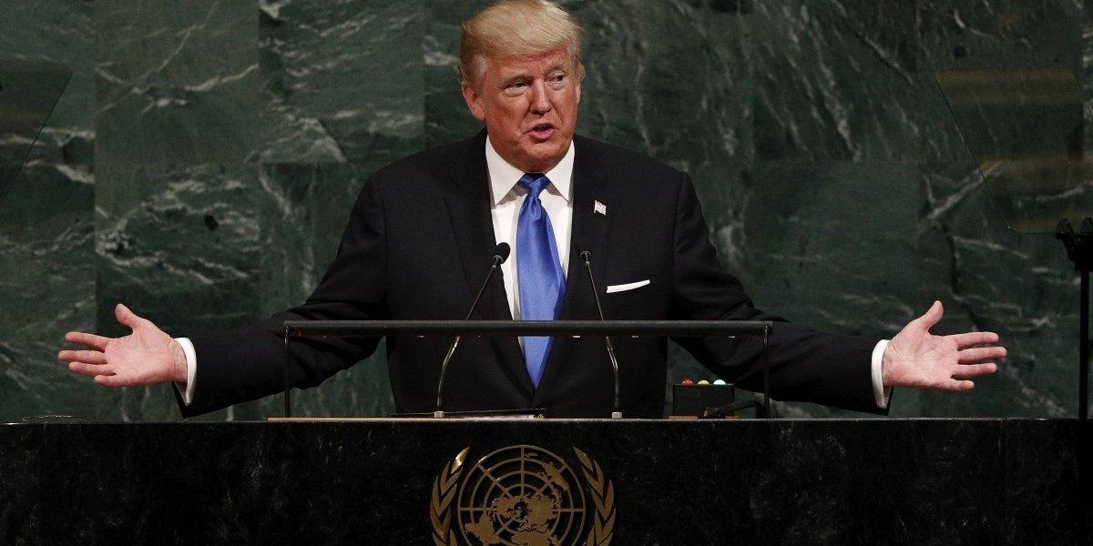 El 'afilado' nacionalismo de Donald Trump ante la ONU