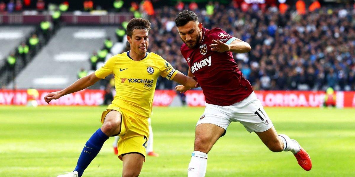 Sin 'Chicharito', West Ham rompe racha positiva del Chelsea