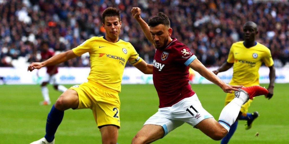 El West Ham de Pellegrini frenó al líder Chelsea y comienza a despegar en la Premier League