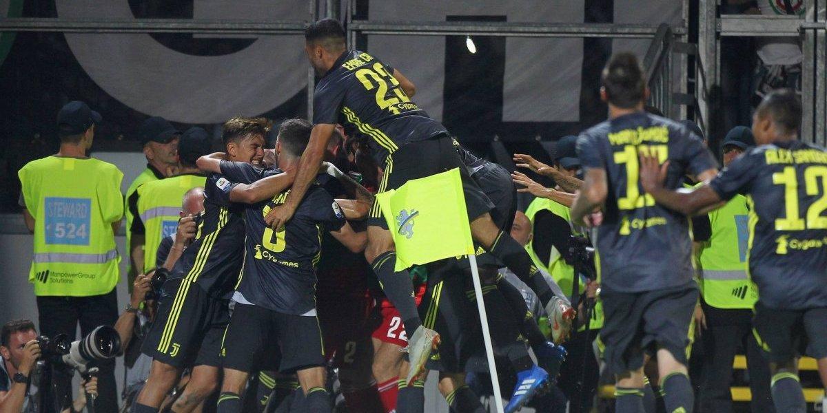CR7 le da la victoria a la Juventus sobre Frosinone