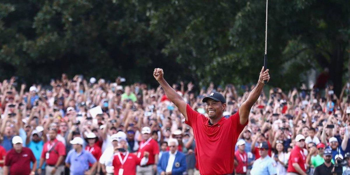 Tiger Woods vuelve a ganar en la PGA después de cinco años