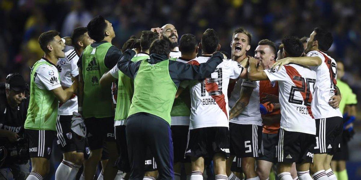 River Plate le gana la partida a Boca Juniors en el superclásico de Argentina