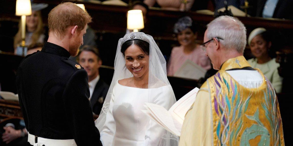 Meghan Markle revela el secreto oculto en su velo de boda