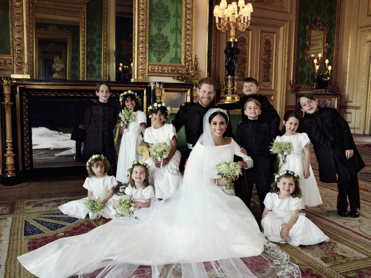 Meghan Markle reveló el gran secreto que escondía su vestido de novia