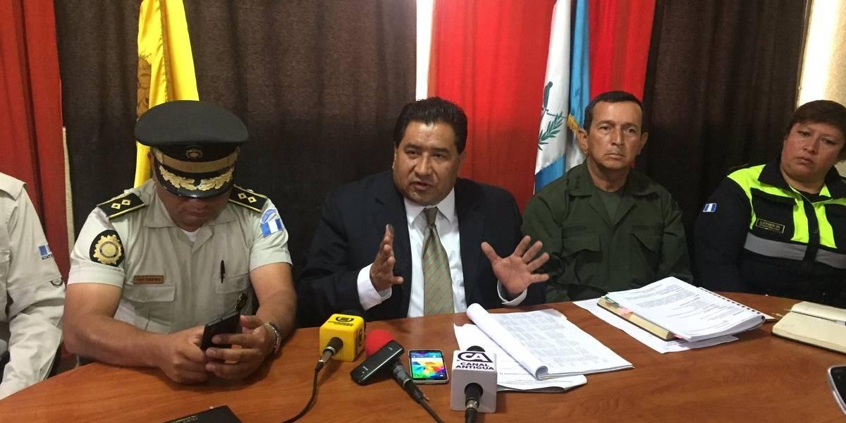Gobernador de San Marcos pide apoyo para el presidente Morales
