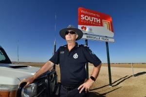 Policía más solitario de Australia